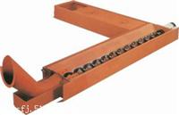 螺旋机床排屑机适合块状卷状切屑输送