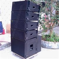 广州舞台线阵音箱厂家208双8寸专业线阵音箱